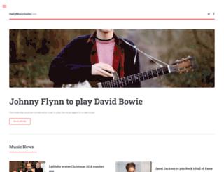 dailymusicguide.com screenshot