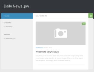 dailynews.pw screenshot