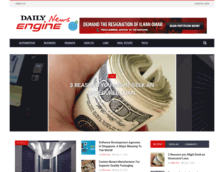 dailynewsengine.com screenshot