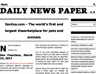 dailynewspaper.us screenshot