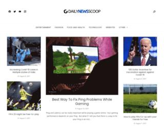 dailynewsscoop.com screenshot