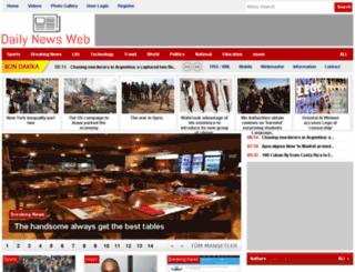 dailynewsweb.com screenshot