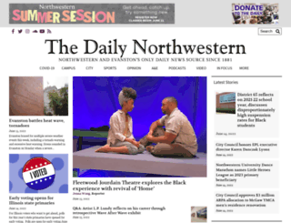 dailynorthwestern.com screenshot