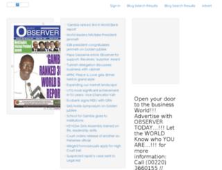dailyobserver.gm screenshot