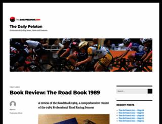dailypeloton.com screenshot