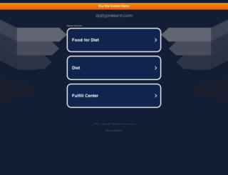 dailypresent.com screenshot