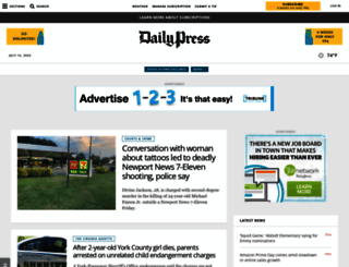 dailypress.com screenshot