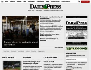 dailypress.net screenshot