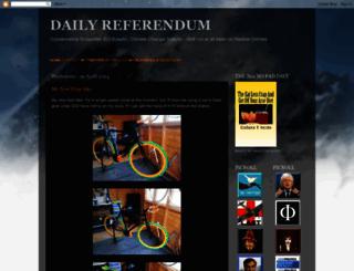 dailyreferendum.blogspot.com screenshot