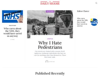 dailyshame.co.uk screenshot