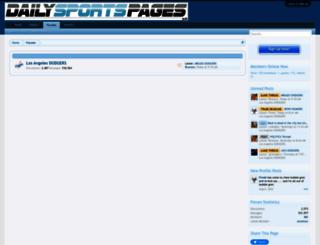 dailysportspages.com screenshot