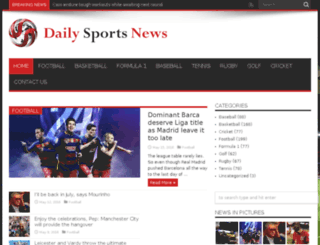 dailysportsworld.net screenshot