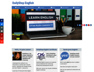 dailystep.com screenshot
