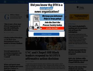 dailytarheel.com screenshot