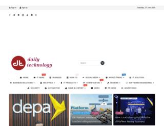 dailytech.in.th screenshot