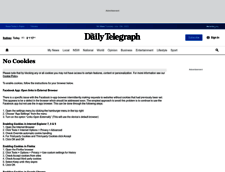 dailytelegraph.com.au screenshot