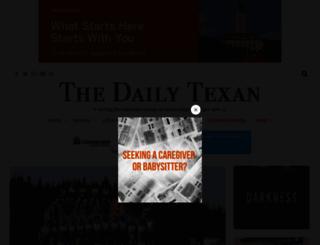 dailytexanonline.com screenshot