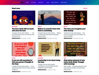 dailythoughts.arvindkatoch.com screenshot