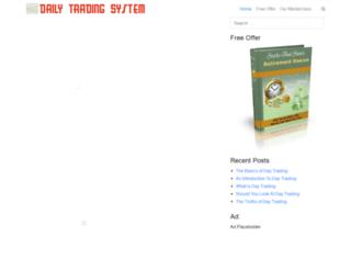 dailytradingsystem.com screenshot