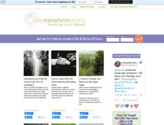 dailytransformations.com screenshot