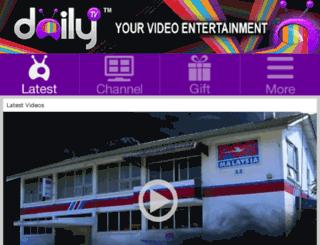 dailytv.com.my screenshot