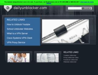 dailyunblocker.com screenshot