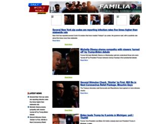dailyworldnewsupdates.com screenshot