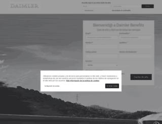 daimler.contigomas.com screenshot