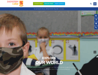dainferncollege.co.za screenshot