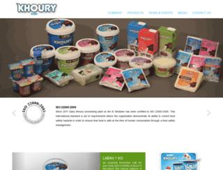 dairykhoury.com screenshot