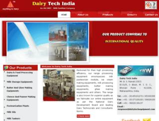 dairytechequipment.com screenshot