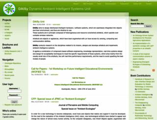 daisy.cti.gr screenshot