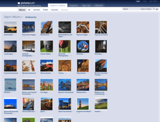 dajon.picturepush.com screenshot