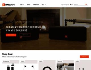 dak.com screenshot