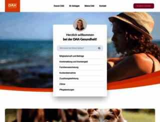 dak.de screenshot