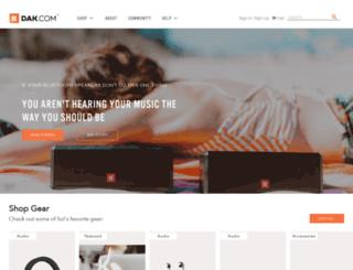 dak2000.com screenshot