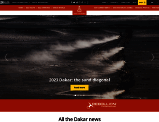 dakar.com screenshot
