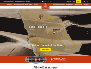 dakar.fr screenshot