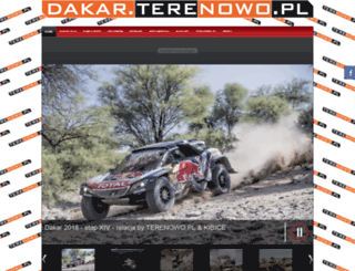 dakar.terenowo.pl screenshot