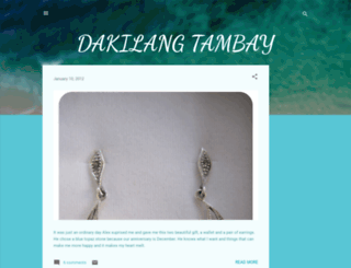 dakilangtambay.blogspot.com screenshot