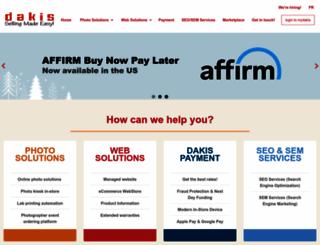 dakis.com screenshot
