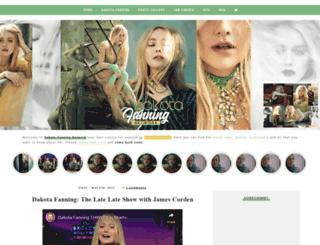 dakota-fanning.com screenshot