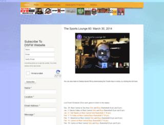 dakotasportsfm.webs.com screenshot
