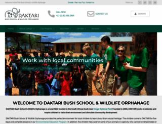 daktaribushschool.org screenshot