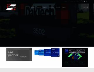 daktech.com screenshot