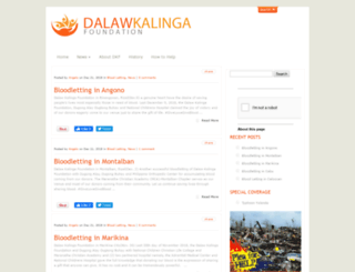 dalawkalingafoundation.org screenshot
