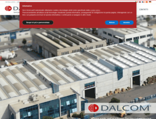 dalcom.it screenshot