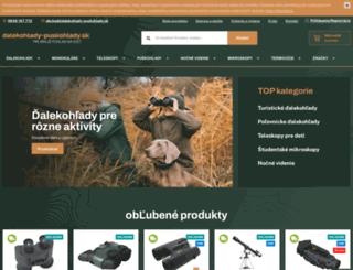 dalekohlady-puskohlady.sk screenshot
