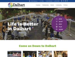 dalhart.org screenshot