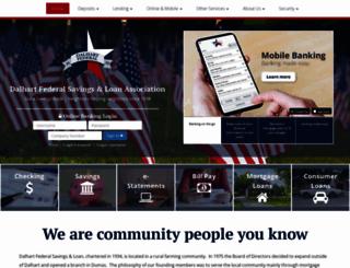 dalhartfederal.com screenshot